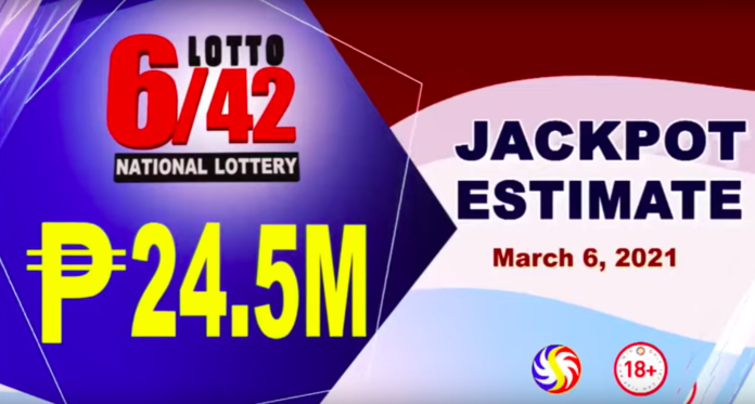 Lotto Result Today March 6, 2021