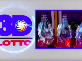 3D Lotto Result Today Swertres